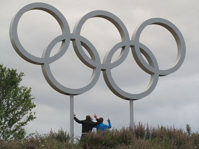 olympic rings - find a different angle for your web content